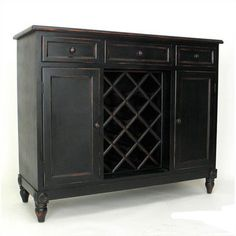Wayborn Sideboard (46 inches wide- This has a more rustic/distressed look, but not sure if you wanted wine rack storage or not. This piece feels a little more high-end than others.) $511