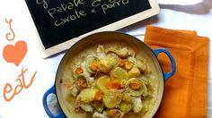 Graten di persico porro patate carote e zenzero