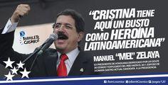 Manuel Zelaya, político de #Honduras. #CFK #Cristina #LAPresidenta #LaJefa #Militancia #Argentina #PatriaGrande #Latinoamérica #AméricaLatina #AméricaLatinayelCaribe #Iberoamérica #Sudamerica #LaPatriaEsElOtro #UnidosyOrganizados #MovimientoNacionalyPopular // #Frases #Citas