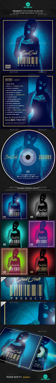 Loyalty Mixtape / Cd Cover Template | Fonts-Logos-Icons