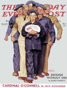 "Saturday Evening Post - 1941-10-04: ""Willie Gillis' Package from   Home"" (Norman Rockwell)"