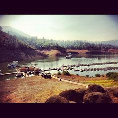 Antlers resort, Shasta lake  @lawnboarder  #webstagram