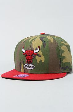 47 Brand Hats The Chicago Bulls Camo Backscratcher Snapback Cap in Camo : Karmaloop.com - Global Concrete Culture