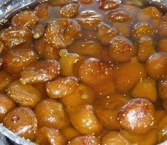 Cómo hacer higos en almíbar - Paso 4 My Dessert, Cilantro, Beans, Food And Drink, Homemade, Canning, Vegetables, Desserts, Recipes