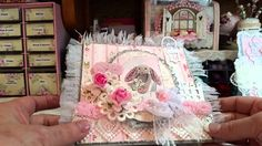 Shabby Easter Bunny  Cards for Nit Wit Collections