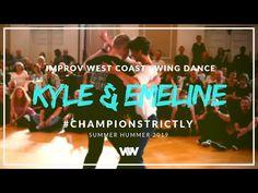 West Coast Swing | Kyle Redd + Emeline Rochefeuille | Champions Strictly 3rd - Summer Hummer 2019 - YouTube Je veux danser comme ça plus tard!! <3