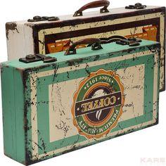 Suitcase Colonial Vintage (2/Set)