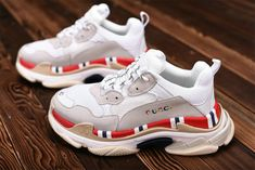 89c598cae4 Gucci x Balenciaga Triple S White Grey Red Sneaker Balenciaga For Sale Big  Boys Youth/Jeunesse Shoes : Sale Newest And Cheapest Lebron 15 Shoes