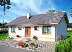 Projekt domu Tebe 83,89 m2 - koszt budowy - EXTRADOM