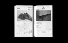 Anna Haas — Rivista Apparente 6 (Publication) Graphic Design Books, Book Design Layout, Print Layout, Graphic Designers, Typography Layout, Graphic Design Typography, Editorial Layout, Editorial Design, Typography Inspiration