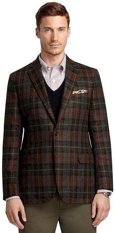 Fitzgerald Fit Large Plaid Deco Sport Coat