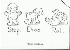 Summer Safety Coloring Pages - Summer Safety Coloring Pages , Scroll Down to Classroom Activities Elementary Grades Fire Safety Crafts, Fire Safety For Kids, Fire Crafts, Fire Safety Week, Summer Safety, Summer Coloring Pages, Preschool Coloring Pages, Preschool Lesson Plans, Preschool Themes