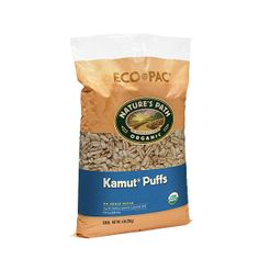 KAMUT® Puffs   Nature's Path wow these are a great baby first finger food! MUCH better than O's