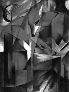 Franz Marc Gino Severini, Blue Rider, Franz Marc, Cubism, Printmaking, Modern Art, Anna, Magic, France