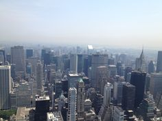 Amazing.... New york from the top of the sky