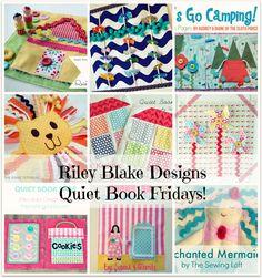 Riley Blake Designs -- Cutting Corners: Quiet Book Page Tutorials #rileyblakedesigns #quietbook #tutorial #cuttingcorners
