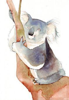 WATERCOLOUR KOALA