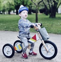 Rowerek biegowy drewniany 2w1 Twist Classic Tricycle, Children, Kids, Baby Strollers, Mosaic, Babe, Classic, Toddlers, Toddlers