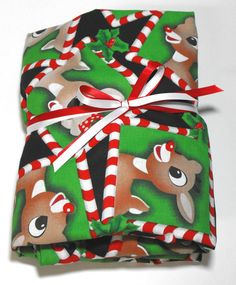 Christmas Sheet Rudolph Fits Standard Crib/Toddler by KidsSheets, $28.00