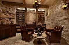 Wine Cellar by Eklektik Interiors Houston, TX