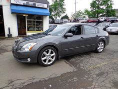 Check out this 2004 Nissan Maxima 3.5 SE Only 84k miles. Guaranteed Credit Approval or the vehicle is free!!! Call us: (203) 730-9296 for an EZ Approval.$11,495.00.