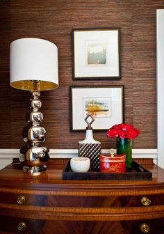 belle maison: Styling 101: The Dining Room Buffet
