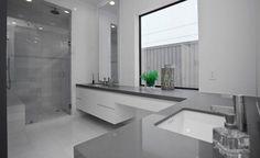 Idee per arredare bagni in grigio n. 08