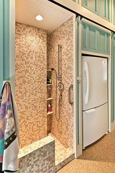 #Pet #Shower  Pet Bath Shower Like the corner floor to ceiling shelves