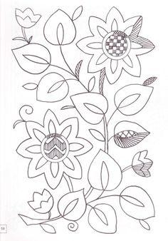Patrón floral4