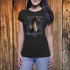 I'm Not A Princess Game of Thrones T Shirt I'm by BlueRoseTshirts