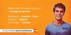 Ucz się z Oskarem języka hiszpańskiego! #nauka #język #hiszpański #rozmówki #Hiszpania