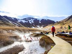 Reykjadalur Hot Springs : Top 8 Natural Healing Spots in the World : TravelChannel.com