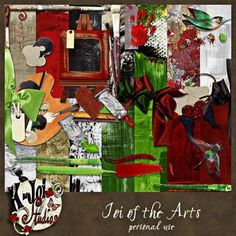 Joi of the Arts Scrapkit