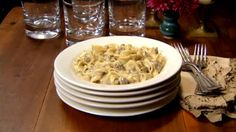 VELVEETA® Cheesy Beef Stroganoff - If you like the classic hearty beef stroganoff, you're gonna love this. Delectably melty Velveeta takes this saucy dish to a whole new level. Cheesy Recipes, Beef Recipes, Pasta Recipes, Cooking Recipes, Dinner Recipes, Recipies, Family Recipes, Dinner Ideas, Beef Dishes