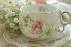 Oh, this is the sweetest tea cup...