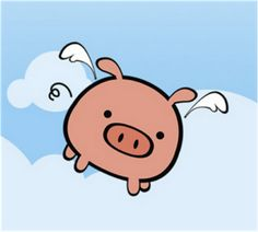 when pigs have wings more iphone wallpapers when pigs fly flying pigs ...