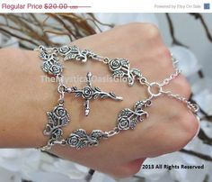 Hey, I found this really awesome Etsy listing at https://www.etsy.com/listing/129351146/sized-religious-cross-bracelet-bracelet