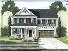 Eplans Dutch House Plan - Narrow Lot Special - 1896 Square Feet and 3 Bedrooms from Eplans - House Plan Code HWEPL64817