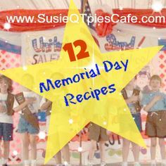 12 Memorial Day Recipes and easy recipes for Summer Picnics