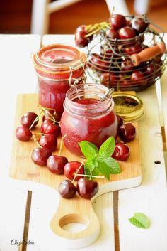 Mermelada de cerezas sin azúcar / Chez Silvia
