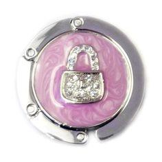 TdZ Handbag Hook Travel Size Purse Charm Pink $13.95