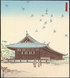 Tokuriki, Tomikichiro - Sanjusangen-do - 三十三間堂