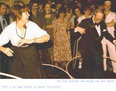 1977 - feest ter gelegenheid van 20 jaar Y&R-K in jaren '50-stijl.
