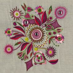 crewel embroidery kits for beginners Embroidery Monogram Fonts, Embroidery Hoop Crafts, Crewel Embroidery Kits, Vintage Embroidery, Embroidery Applique, Cross Stitch Embroidery, Embroidery Patterns, Machine Embroidery, Embroidery Supplies