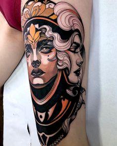 Veja tudo que rolou de novidade no mês de Março do Tattoo2me! Medusa Tattoo, Neo Tattoo, Tattoo Flash, Piercing Tattoo, Tattoo Ink, Piercings, Tatuagem Art Nouveau, Art Nouveau Tattoo, Neo Traditional Art