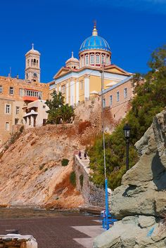 Ermoupolis, Syros, Greek Cyclades Islands