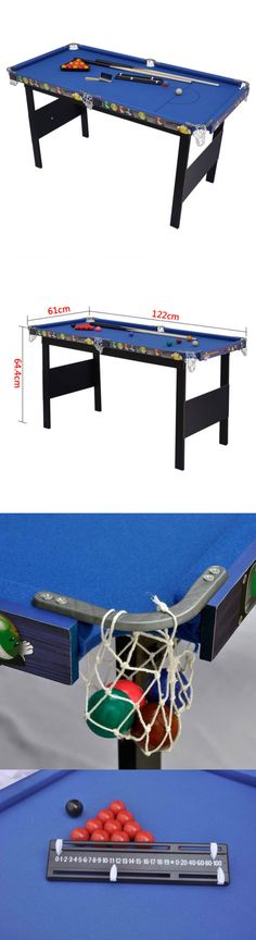 Tables 21213: 36u201d Mini Table Top Pool Table Game Billiard Set Cues Balls  Gift Indoor Sports BUY IT NOW ONLY: $35.99   Tables 21213   Pinterest   Pool  Table ...