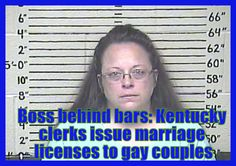 After boss lands in jail, Kentucky clerks issue marriage licenses |