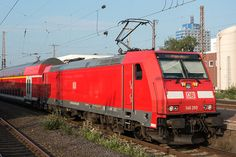 Trains and locomotive database and news portal about modern electric locomotives, made in Europe. Db Ag, Electric Locomotive, Train Tracks, German, Adventure, World, Modern, Europe, Deutsch