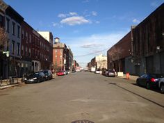 Greenpoint Ave off West St. Greenpoint.